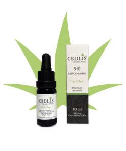 Bio-CBD-Öl-5%-bio-highclass-500mg-CBDLIS-aromaöl